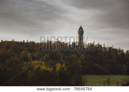 The Wallace Monument in Stirlingshire