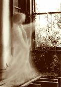 ghost sepia