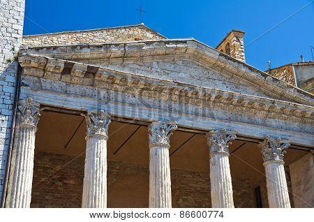 Temple of Minerva. Assisi. Umbria. Italy.