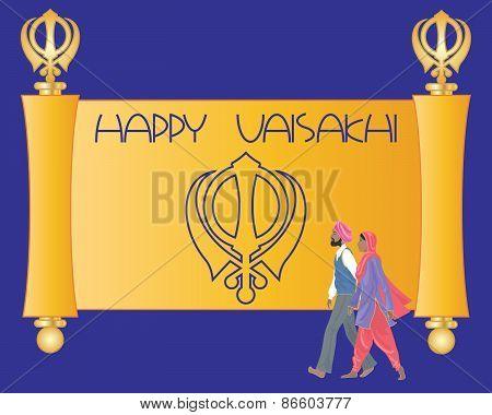 Sikh Greeting Card