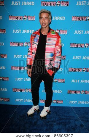 LOS ANGELES - MAR 26:  Jared Eng at the Just Jared's Throwback Thursday Party at the Moonlight Rollerway on March 26, 2015 in Glendale, CA