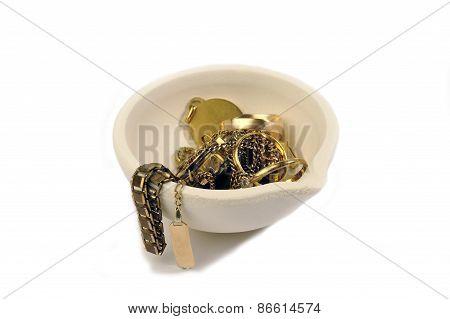 Melting Pot For Melting The Gold
