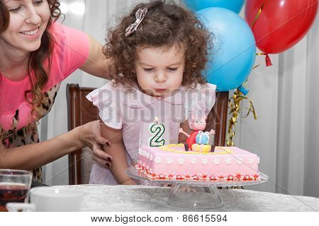 Baby Girl Celebrates Birthday