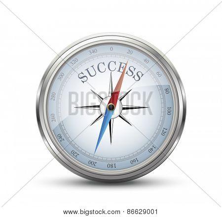 Success Compass Concept