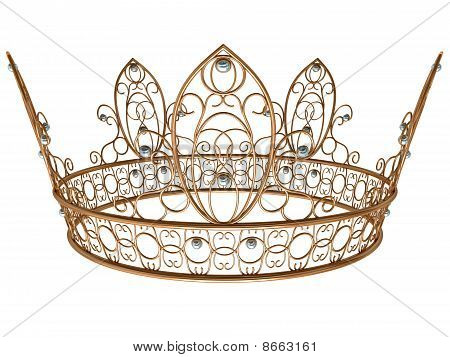 Gold Royal Crown