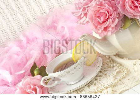 Mothers Day Tea Party Still Life