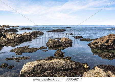 The ocean view from Fort Bragg, California