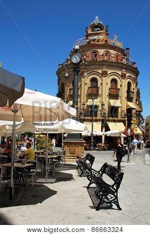 Pavement cafe, Jerez de la Fronter.