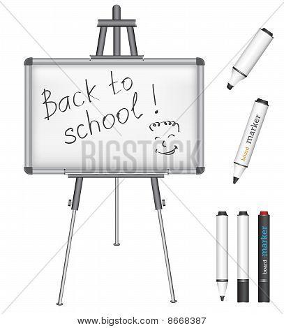 Marker Board Back To School