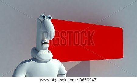 Shocked Plasticine Man
