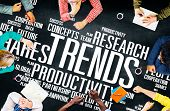 Global Shares Trends Ideas Sales Solution Expertise Concept poster