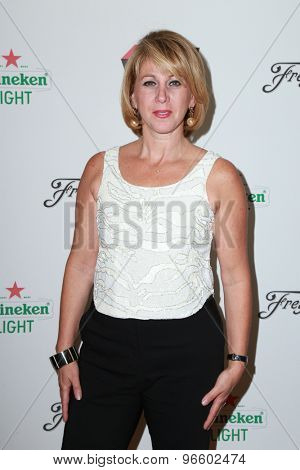LOS ANGELES - JUN 11:  Sharon Waxman at the TheWrap's 2nd Annual Emmy Party at the London Hotel on June 11, 2015 in West Hollywood, CA