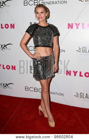LOS ANGELES - MAY 7:  Bethany Joy Lenz at the NYLON Magazine Young Hollywood Issue Party  at the HYDE Sunset on May 7, 2015 in West Hollywood, CA