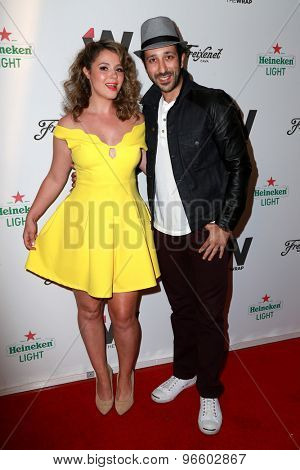 LOS ANGELES - JUN 11:  Kether Donohue, Desmin Borges at the TheWrap's 2nd Annual Emmy Party at the London Hotel on June 11, 2015 in West Hollywood, CA