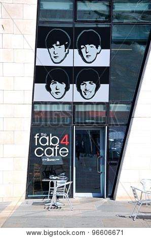 The Fab Four Cafe, Liverpool.