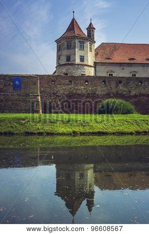 Fagaras Fortress, Fagaras City, Romania