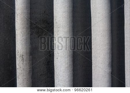 Grey Slate Roof Illuminated By The Sun. Backgrounds And Textures