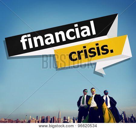 Financial Crisis Economy Exhange Trade Concept