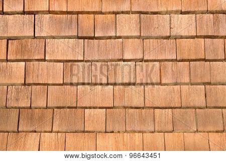 Brown shingles