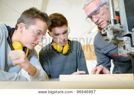 Woodwork apprenticeship