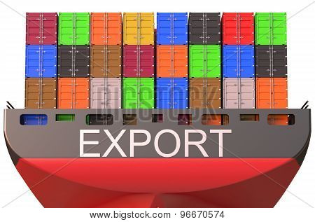 Container Ship, Export Concept