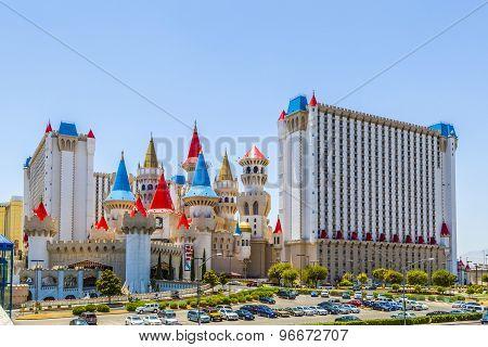 Excalibur Hotel And Casino In Las Vegas, Nevada.