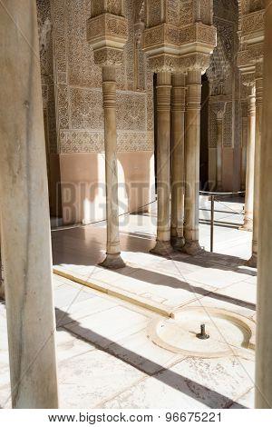 Little Fountain In Alhambra
