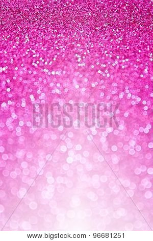 Pink Glitter Sparkle Background