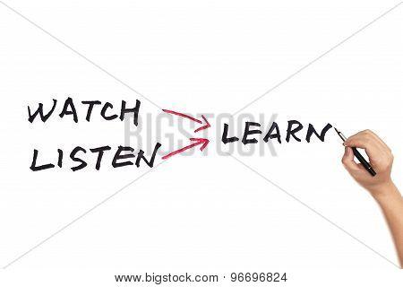 Watch Listen Learn