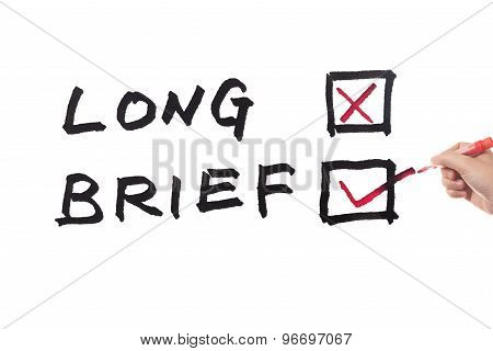 Long Or Brief Words