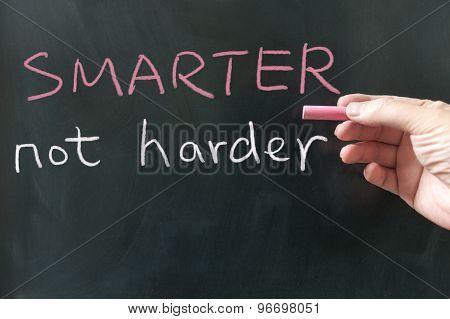 Smarter, Not Harder