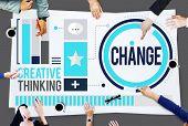 Change Improvement Development Adapting Revolution Concept poster