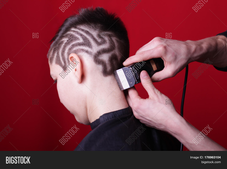 Cutting Hair Machine Image Photo Free Trial Bigstock