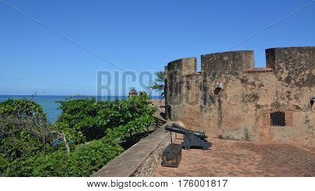Fort of Puerto Plata in Dominican Republik