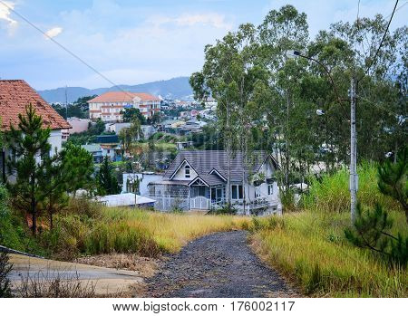 Buildings In Dalat, Vietnam