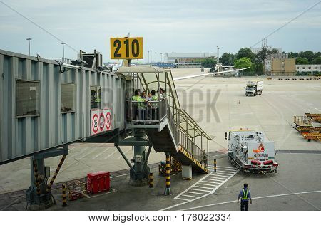 Capital International Airport In Beijing, China