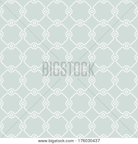 Seamless light blue and white ornament in arabian style. Pattern for wallpapers and backgrounds