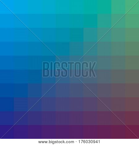 blue abstract concept geometry background with squire shapes. color gradient vector illustration for background, wallpaper, covers, flayer backdrop.
