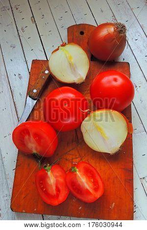Tomato And Onion