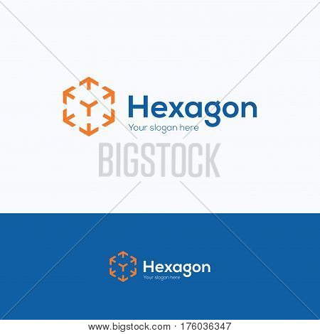 Hexagon Company Logo