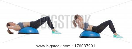 Balance Training Ball Exercise