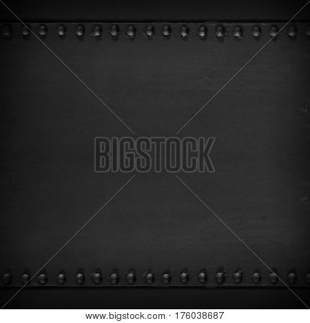 Black Abstract Steel Texture