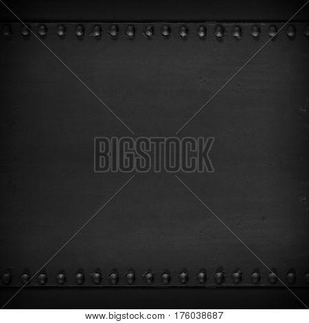 Black Abstract Steel Texture