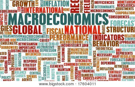 Macroeconomics or Macro Economics as a Concept poster