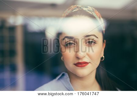 Young Woman Feeling Tired With Indifferent Face