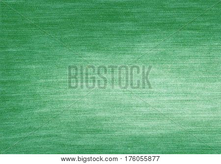 Green Color Jeans Texture.
