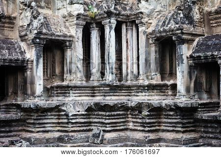 ruins temple of Angkor Wat, Siem Reap, Cambodia