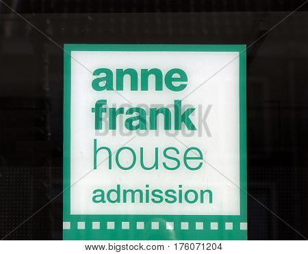 Letters Anne Frank House Admission