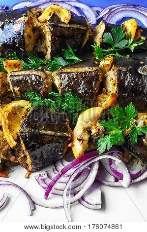 Dish Of Fried Fish