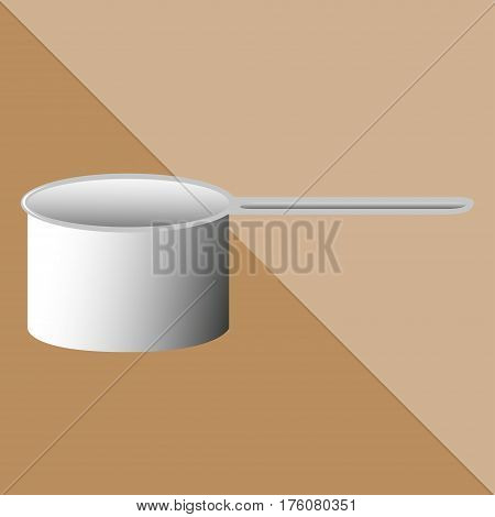 Kitchen ladle. Kitchen utensils and equipment icon.